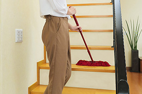 STEP2 お部屋の上から下までキレイにできる