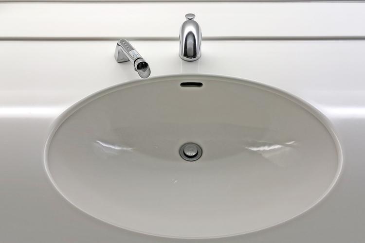 洗面台の防汚コート